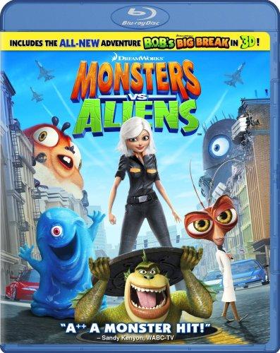 Get Monsters vs. Aliens On Blu-Ray
