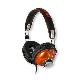 ifrogz ヘッドホン iPhone iPodに好適 Throwbax(スローバックス) オレンジ色