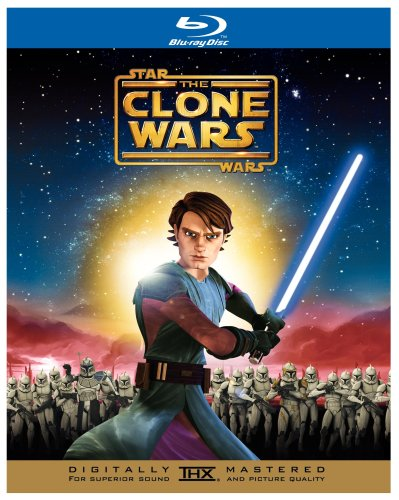 Star Wars: The Clone Wars [Blu-ray] DVD