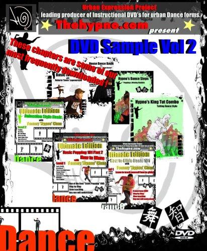 DVD Sample Vol-2 - popping locking dance level 1 to 3