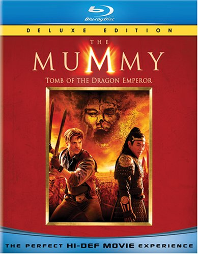 The Mummy: Tomb of the Dragon Emperor [Blu-ray] DVD