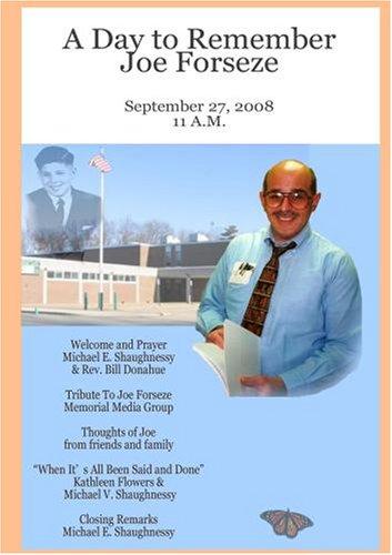 Joe Forseze Tribute