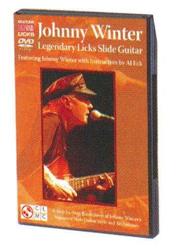 Johnny Winter Legendary Licks Slide Guitar DVD