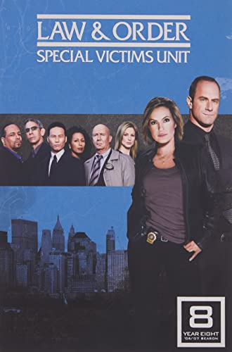 Law & Order: Special Victims Unit - The Eighth Year DVD