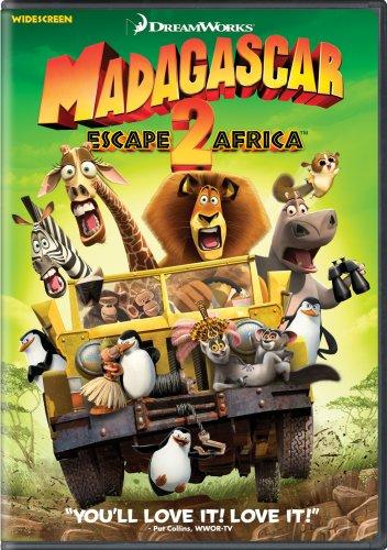 Madagascar - Escape 2 Africa  DVD