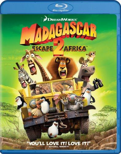 Madagascar - Escape 2 Africa [Blu-ray] DVD