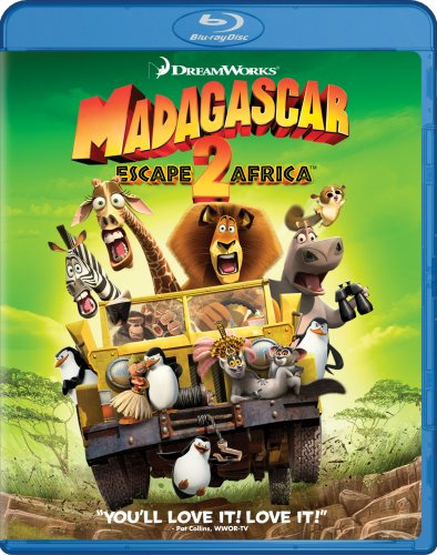 Get Madagascar: Escape 2 Africa On Blu-Ray