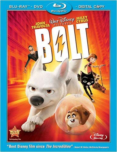 Cartoon Characters Cast And Crew For Bolt American Dog