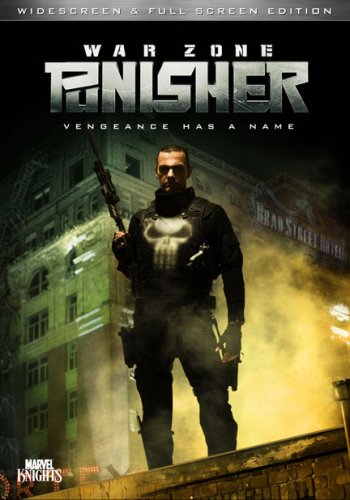 Punisher: War Zone DVD