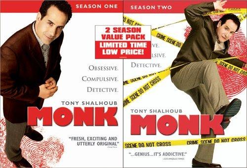 Monk-Season 1/Season 2 Value Pack DVD