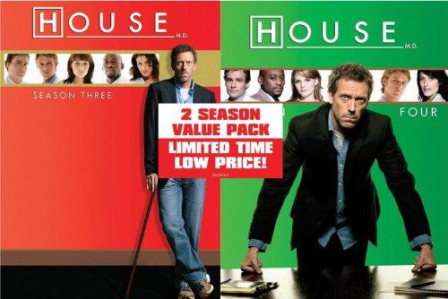 House-Season 3/Season 4 Value Pack DVD