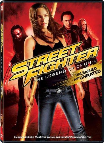 Street Fighter: The Legend of Chun Li DVD