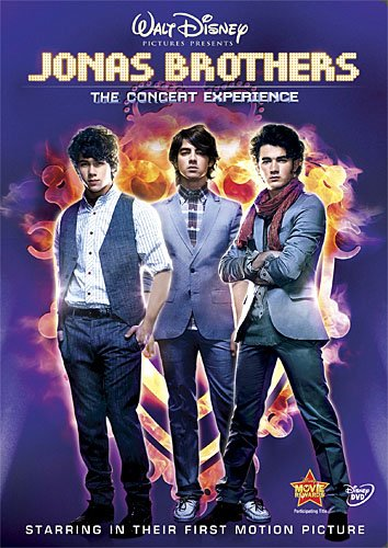 Jonas Brothers: The Concert Experience  DVD