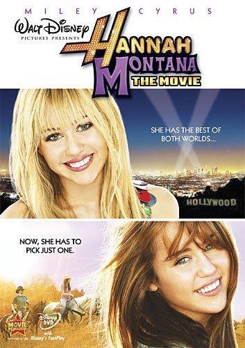 Hannah Montana The Movie DVD