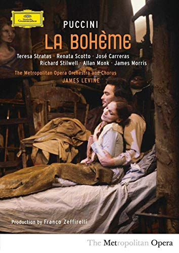 La boheme composed by Giacomo Puccini