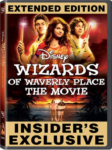 Wizards of Waverly Place: The Movie DVD