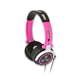 iFrogz ヘッドホン iPhone iPodに最適 CS40s ピンク色