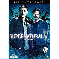 SUPERNATURAL V / スーパーナチュラル 〈フィフス・シーズン〉コンプリート・ボックス [DVD]