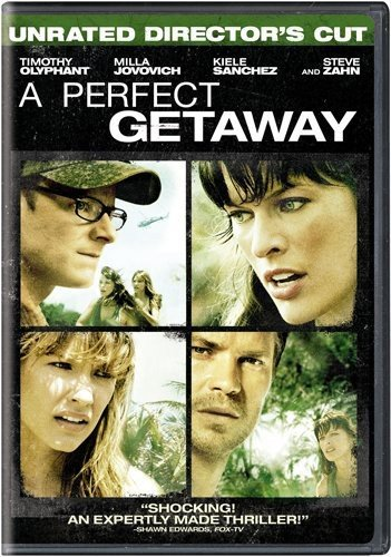A Perfect Getaway DVD
