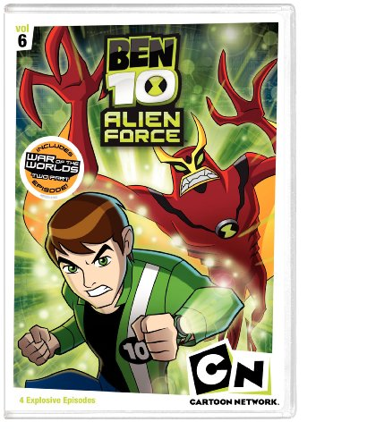 Ben 10: Alien Force, Vol. 6 DVD