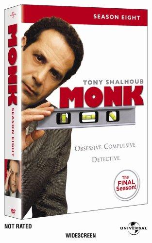 Monk: Season Eight DVD