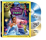 The Princess and The Frog (Three Disc Combo:…