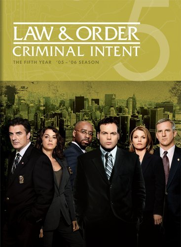 Law & Order: Criminal Intent - The Fifth Year DVD