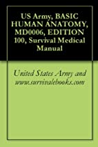 US Army, BASIC HUMAN ANATOMY, MD0006,…