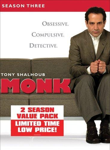 Monk: Season Three & Four DVD