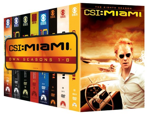 CSI Miami: Seasons One-Eight DVD