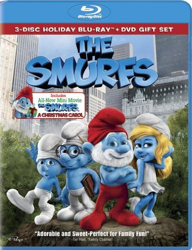 Get The Smurfs On Blu-Ray