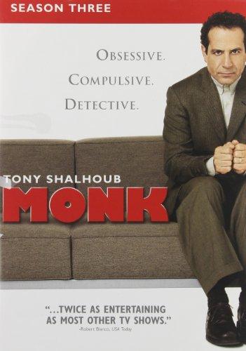 Monk: Season Three  DVD