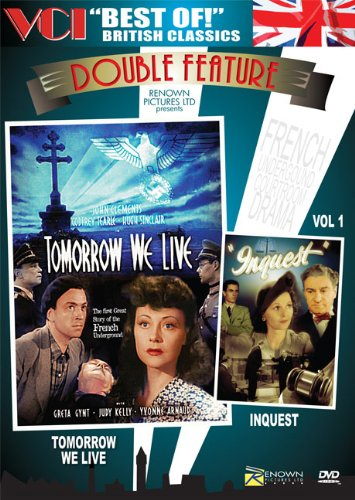 BEST OF BRITISH CLASSICS DOUBLE FEATURE Vol 1: Tomorrow We Live & Inquest