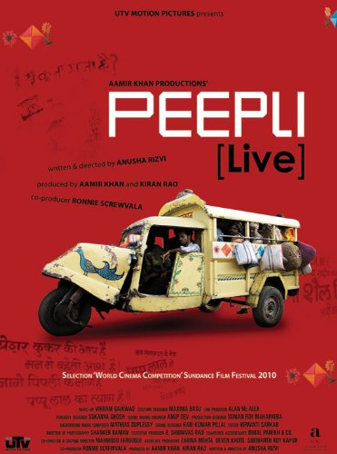 Peepli [Live] (Aamir Khan Productions - New Hindi Film / Bollywood Movie / Indian Cinema DVD)