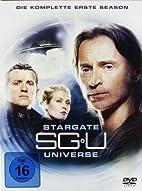 Stargate Universe - Season 1 [6 DVDs] by…