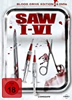 Saw I-VI (Blood Drive Edition, 6 Discs) by…