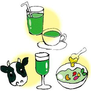 飲み方いろいろ、家族みんなで楽しめる青汁です。
