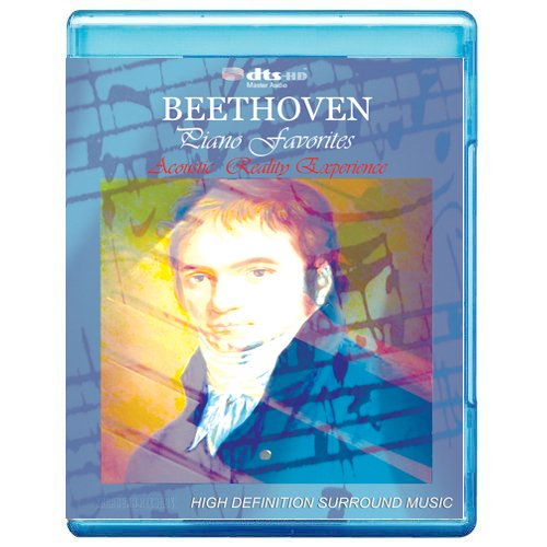 Beethoven Piano Favorites - Acoustic Reality Experience [7.1 DTS-HD Master Audio Disc] [Blu-ray]