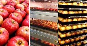 400個の焼リンゴはパン屋さんのオーブンで