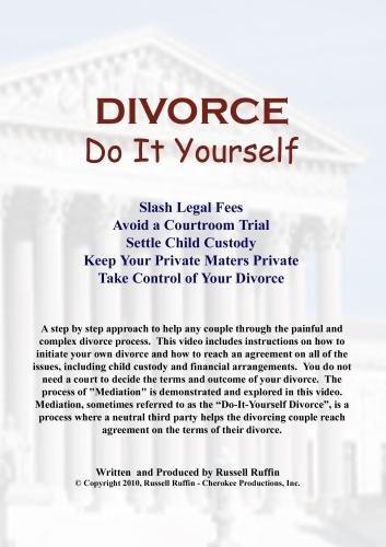 Divorce: Do It Yourself