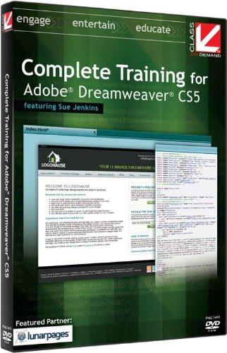 Class on Demand: Complete Training for Adobe Dreamweaver CS5 Educational Training Tutorial DVD