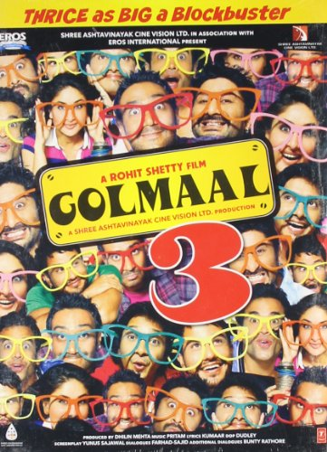 Golmaal 3 Bollywood DVD With English Subtitles