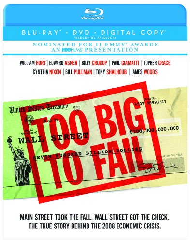 Too Big to Fail  DVD