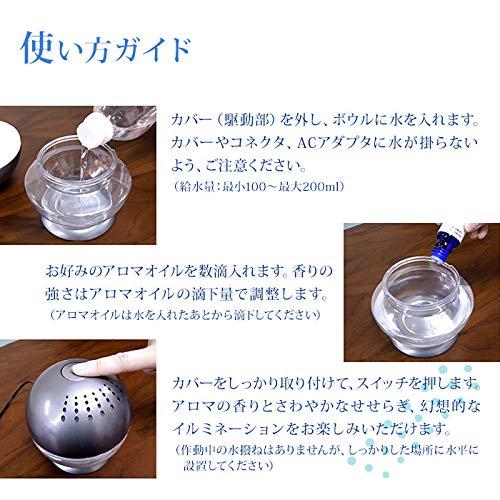 水で空気を洗う、おしゃれな空気清浄機