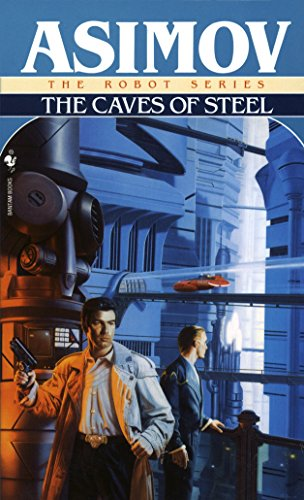 Book Cover for The Caves of Steel by Isaac Asimov