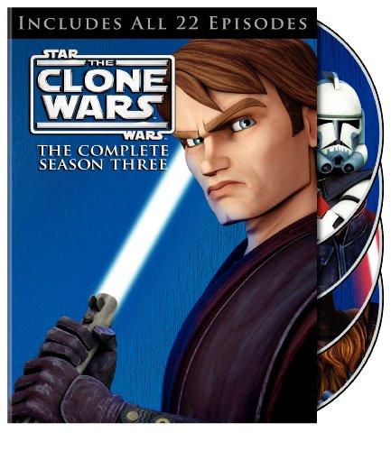 Star Wars: The Clone Wars: The Complete Season Three DVD