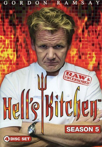 Hell's Kitchen: Season 5 Raw & Uncensored DVD