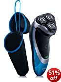 Philips AquaTouch AT890/20 Wet and Dry Rechargeable Electric Shaver with Pop Up Trimmer