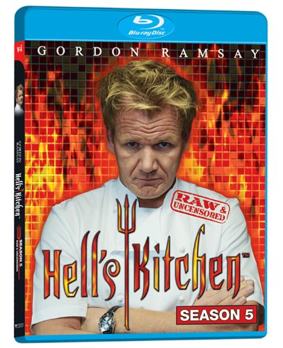Hell's Kitchen: Season 5 Raw & Uncensored [Blu-ray] DVD