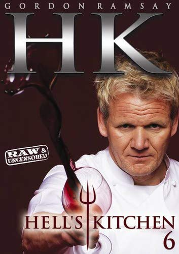 Hell's Kitchen: Season 6 Raw & Uncensored DVD